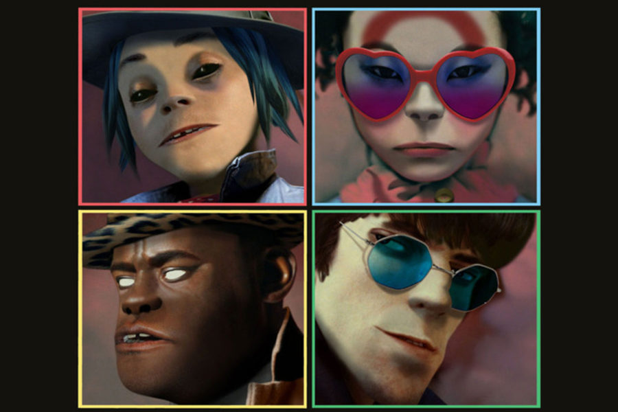 The+return+of+the+Gorillaz