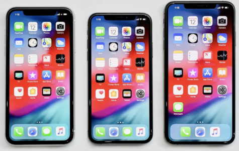 The iPhone XS, XS max, and XR