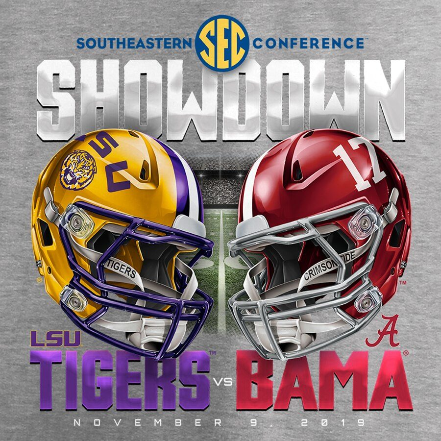 LSU+vs+Alabama
