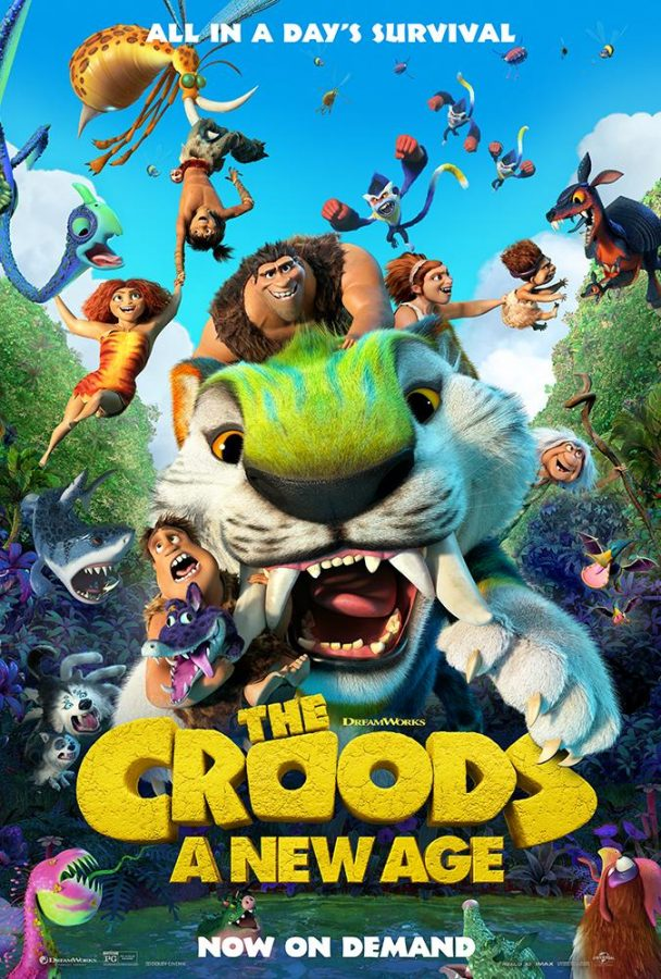 """""""The Crood's: A New Age"""": A Movie Review"""